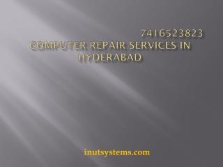 Computer repair services in Hyderabad