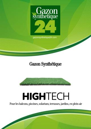 Gazon Synthétique High Tech