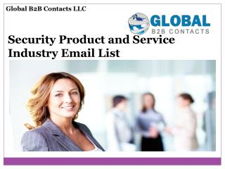 Call Centres and Business Centres email lists