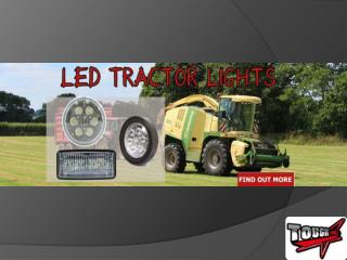 Know More About LED Tractor Lights