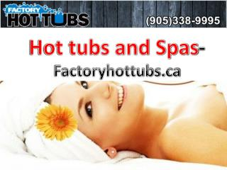 Short clip on Hot tubs and Spas by Factoryhottubs