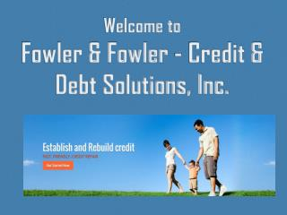 Trust-worthy Credit Repair Program