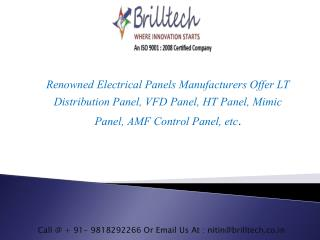 VFD Panel Manufacturers | Exporters India