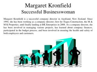 Margaret Kronfield Successful Businesswoman