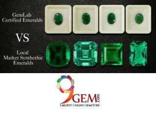 Difference Between GemLab Certified Emerald and Local Market Emerald
