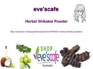 Buy Evescafe Herbal Shikakai Powder