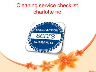 house cleaning equipment charlotte