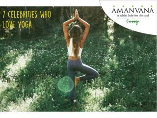 7 Celebrities who love Yoga