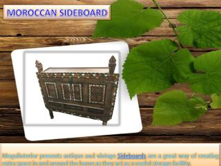 Moroccan Sideboard