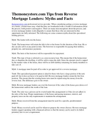 PPT - Tips t... Reverse Mortgage Hdfc