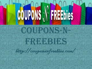 Coupons N Freebies