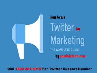 How to Join Twitter to Use for Business and Marketing? twitter support