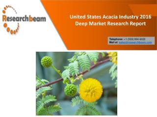 United States Acacia Industry 2016