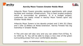 Aarcity Moon Towers - 9599595105