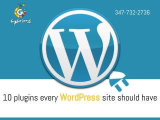 10 Plugins Every WordPress Site Should Have