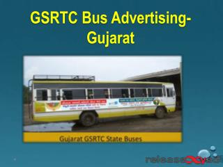 GSRTC Gujarat Bus Advertising