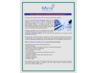 Accounting outsourcing company