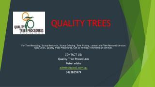 Quality Trees