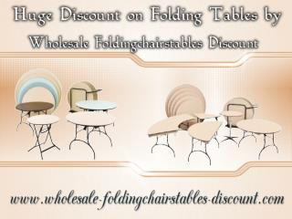 Huge Discount on Folding Tables by Wholesale Foldingchairstables Discount