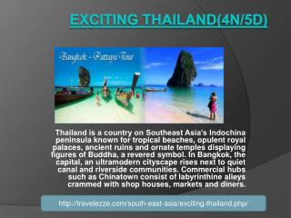 Exciting Thailand(4N/5D)