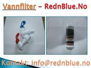 Vannfilter Du Trenger - RednBlue.No