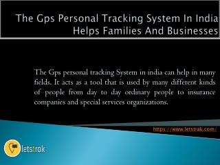 Letstrak GPS Tracking Device