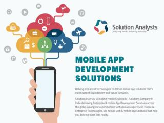 Web,Enterprise & Mobile App Development Solutions India