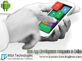 Best App Development companies in Dallas