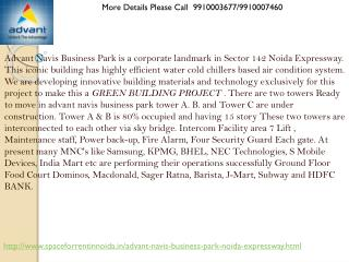 advant navis business park noida expressway