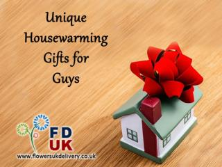 Unique Housewarming Gifts for Guys