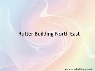 Building Services Sunderland - Rutter Building N.E