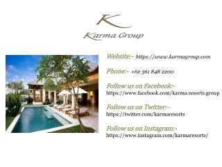 Karma Group - Luxury Hotels for Travel & Accommodation