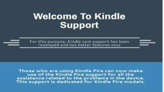 Kindle Fire Support