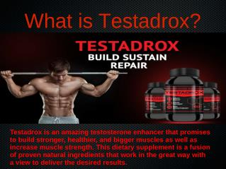 Testadrox Avail Risk-Free Trial Pack