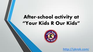 After-school activity
