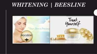 Beesline whitening cosmetics at affordable prices
