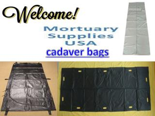 Find High Quality cadaver Bags at Mortuary supplies Online Store