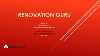 Renovation guru