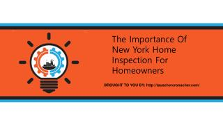 The Importance Of New York Home Inspection For Homeowners