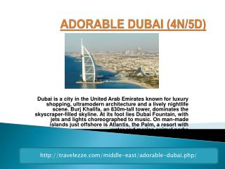ADORABLE DUBAI (4N/5D)