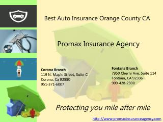 Online Auto Insurance Orange County ca