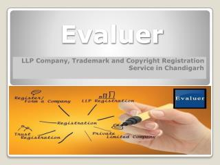 Evaluer - LLP Company, Trademark and Copyright Registration Service in Chandigarh