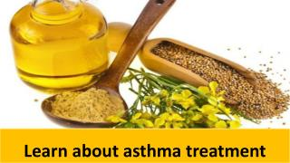 Learn about asthma treatment
