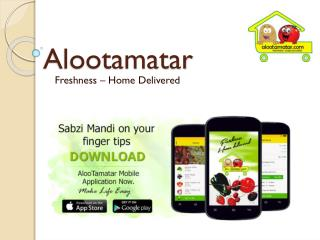 Shop Fruits, Vegetables Online from Alootamatar