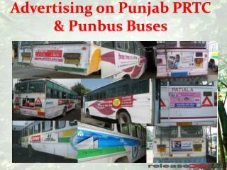 Punjab Bus Advertising & Branding