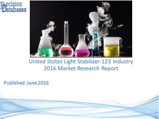 Light Stabilizer-123 Market Research Report: United States Analysis 2016-2021