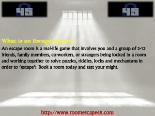 Escape Roomin Washington DC