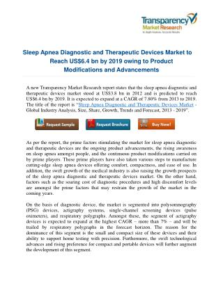 Sleep Apnea Diagnostic and Therapeutic Devices Market: A New Dimension of Innovation