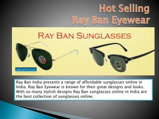 Get Ray Ban Sunglasses at GKB Opticals