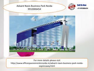 Advant Navis Business park Noida 9910006454, Office Space On Rent
